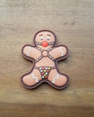 Patch Weihnachten - BONDAGED GINGERBREAD