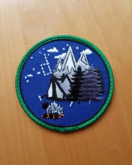 Bushcraft Patch V1 - Enjoy Camping