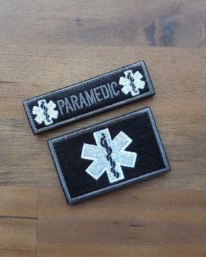 Paramedic Patch schwarz