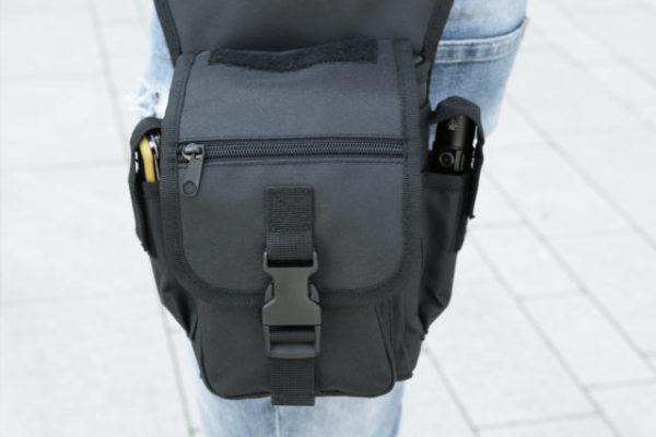 Brandit Hüfttasche schwarz