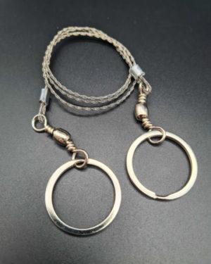 MFH Drahtsäge, mit 2 Ringen
