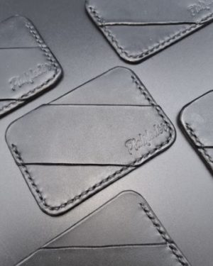 Micro Wallet aus Leder - EDC Wallet